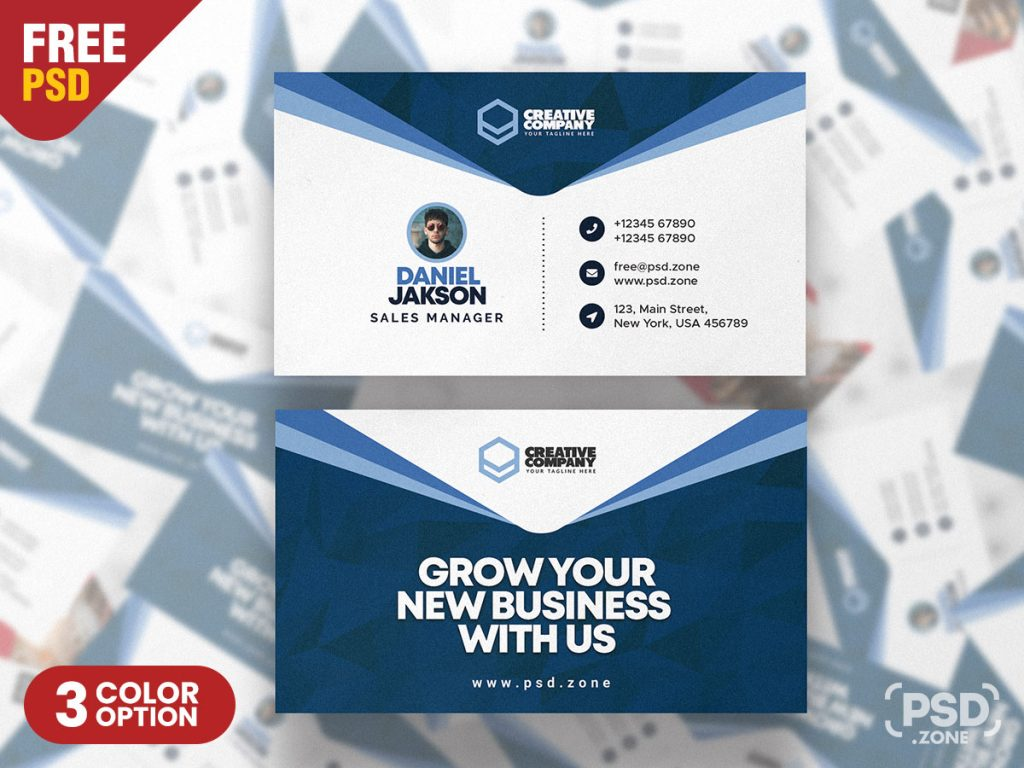 21+ Free Business Card Templates (Fully Printable) – Creatisimo.net Regarding Creative Business Card Templates Psd