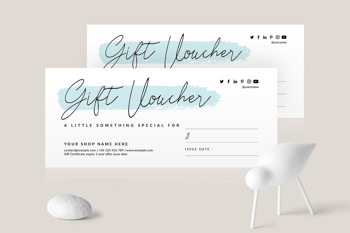 30 Stunning Voucher Designs For Your Business Creatisimo Net